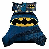 Warner Bros 72 X 86 Batman Guardian Speed Reversible Microfiber Comforter, Twin on sale