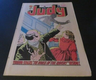 Latest Collection Of Judy Comic #1051 Uk Comic Children From The Stars U.f.o Freddie Starr Ad 1980