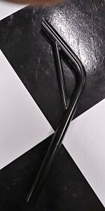 Black-22-2-Bicycle-Lay-Back-Steel-Seat-Post-W-Support-for-Old-School-GT-BMX-Bike
