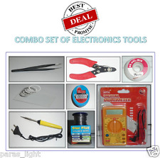 Combo Set 8 IN 1 Soldering Iron Tool Kits Home Use & Mobile Repairing