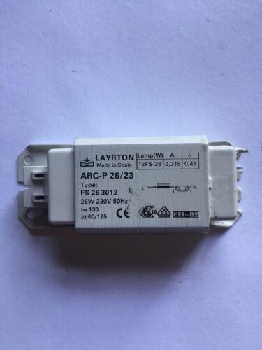 26W Drossel Verlustarmes Vorschaltgerät VVG Leuchtstofflampe Leuchtstoffröhre