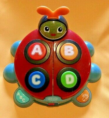 4 Songs 93 Words/phrases Infantino Alphabet & Colors Learning Beetle