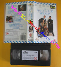 VHS film A FISH CALLED WANDA Cleese Lee Curtis Kline Palin INGLESE (F138) no dvd