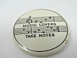 Music-Lover-Take-Notes-Pin-Button-Musician-Musical-Gift