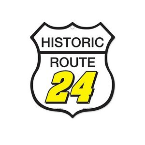 2015 jeff gordon 24 nascar retirement historic route sign 11 034 x10