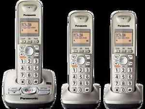 panasonic kx-tg433sk dect 6.0 phone 3-handset reviews of la