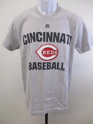 Fanartikel Haben Sie Einen Fragenden Verstand Neu Cincinnati Reds Erwachsene Herrengrößen S-m-l-xl-2xl Grau Majestic Shirt Uvp Weitere Ballsportarten