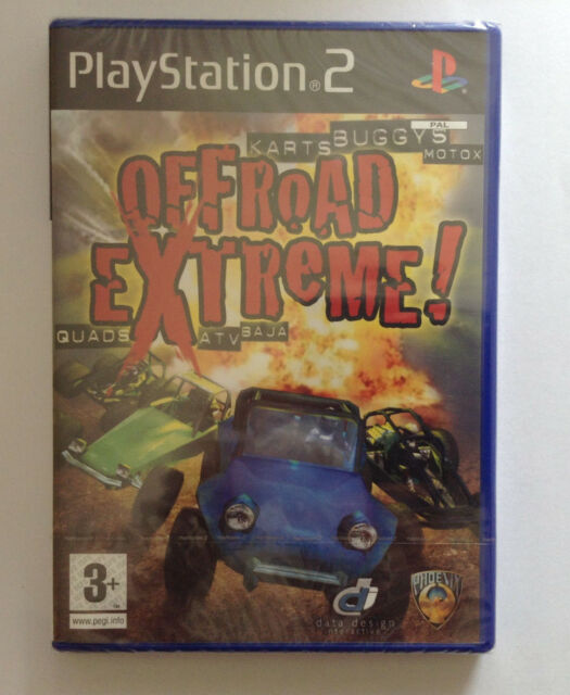 PS2 - Offroad Extreme For PlayStation2 * NEW with Official Embossed Seal * PAL