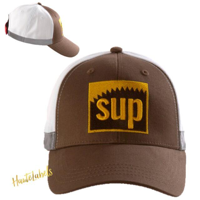 "574e29f777b SPRAYGROUND HAT ""SUP"" SUPREME Baseball Cap Adjustable   Limited Edition    NEW"