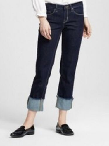 Mid-rise Straight Crop Size 18 Super Stretch Women's Mossimo Jeans 34 Waist
