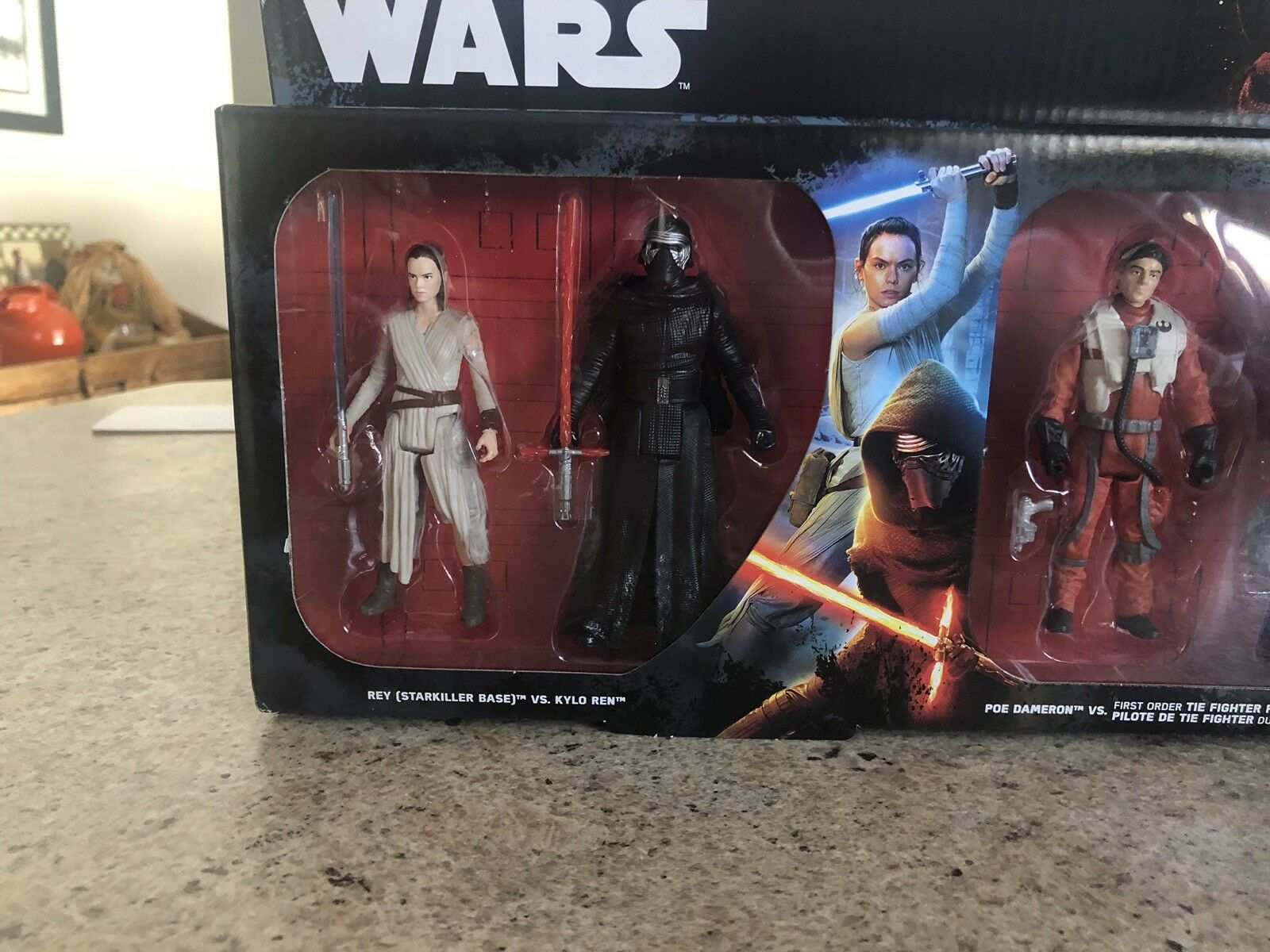 Star Wars The Force Awakens 6 Action Figures Figures Figures 3.75  c93944
