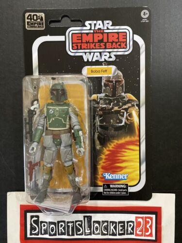 "Star Wars Black Series Boba Fett 40th Anniversary ESB 6/"" Action Figure *IN STOCK"