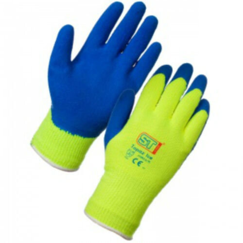 """10 pairs of Supertouch Topaz ICE Thermal Grip Gloves   /""""FREE DELIVERY/"""""""