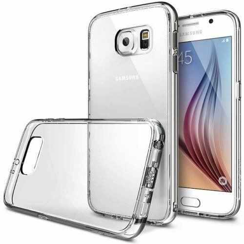 Fit For Samsung Galaxy S6 S7 S7Edge S8 S8+ S5 CLEAR Thin Transparent Jelly Case