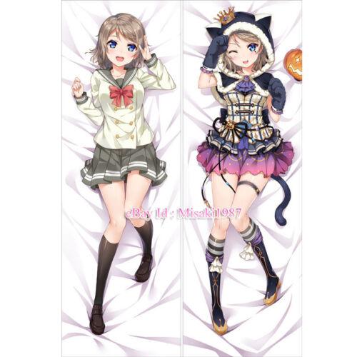 Love Live Sunshine Dakimakura Watanabe You Anime Hugging Body Pillow Case Cove