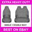 GREY-CITROEN-DISPATCH-EXTRA-HEAVY-DUTY-VAN-SEAT-COVERS-PROTECTORS-WATERPROOF thumbnail 1