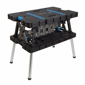 Tremendous Details About Folding Work Bench Portable Master Table Pro Adjustable Clamps Sturdy Diy Garage Frankydiablos Diy Chair Ideas Frankydiabloscom