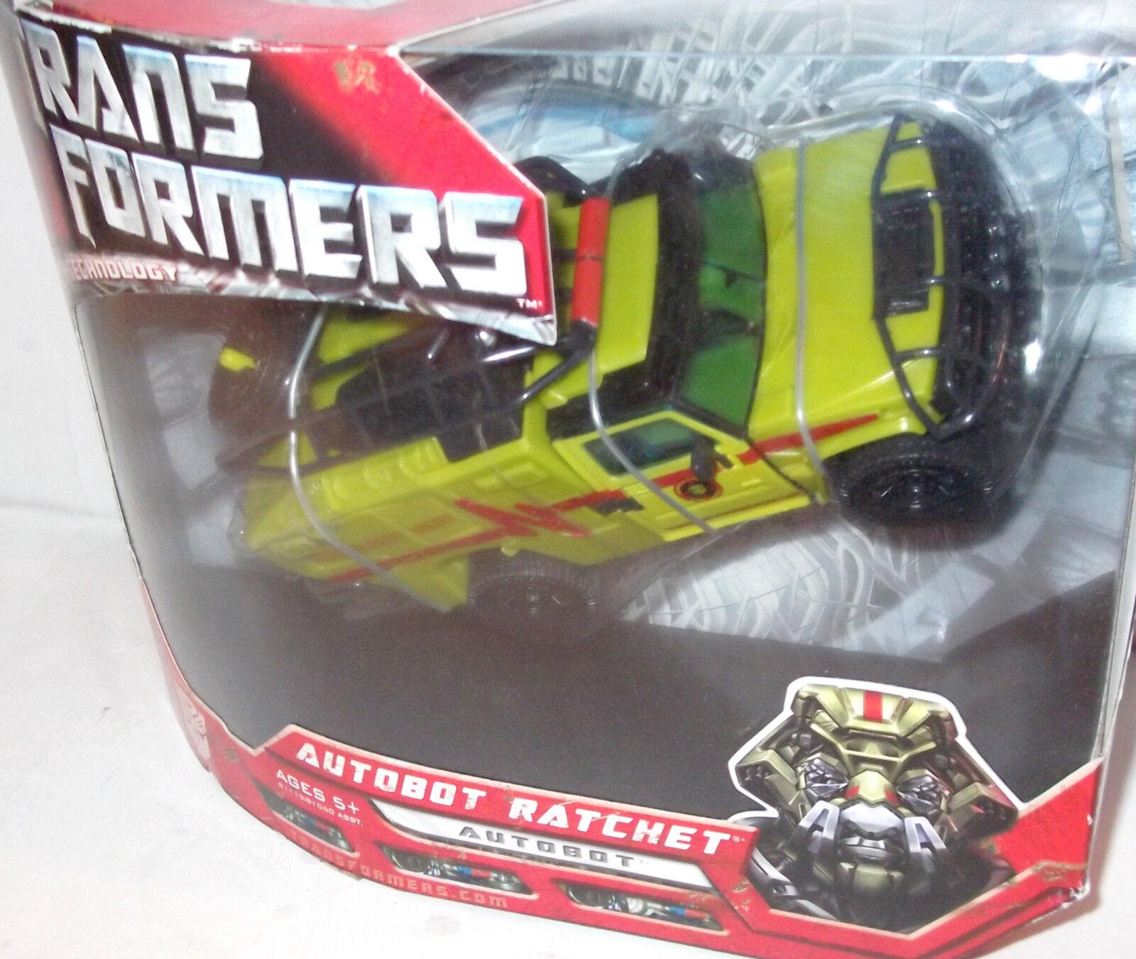 2007 ✰ Movie rossoF RATCHET Voyager AUTHENTIC USA Transformers revenge ftuttien