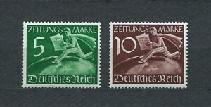 3rd-REICH-1939-YT-1-a-2-TIMBRES-POUR-JOURNAUX-NEUFS-MNH-LUXE