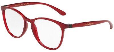 Ordinato Occhiale Da Vista Eyewear Dolce&gabbana 5034 Colore 1551 Transparent Bordeaux 53 Vendita Calda 50-70% Di Sconto