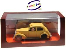 TINTIN BROKEN CAR CRAB WITH GOLDEN CLAWS VOITURE BRISÉE LE CRABE AUX PINCES D'OR