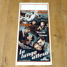 LA LUNGA ATTESA locandina poster Clark Gable Anne Baxter Lana Turner Medico B23