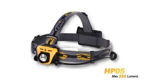 Fenix HP05 - Grey - Headlamp 350-Lumen 3xAA Batteries (Not included)