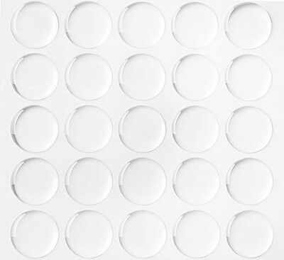 1000 QTY 1 Inch CIRCLE EPOXY STICKER DOME BOTTLE CAP Round Pendant Dot Resin