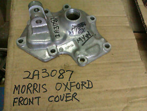 MORRIS-OXFORD-GEARBOX-FRONT-COVER