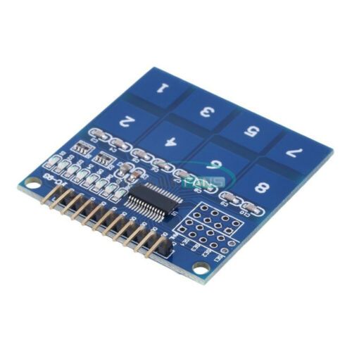 TTP226 8-Channel Digital Capacitive Switch Touch Sensor Module for Arduino
