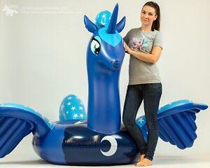 Poney gonflable Princess Luna - Licorne, île de baignade, île de bain, matelas pneumatique