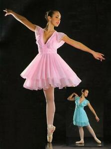 Symphony Dance Costume PINK Ballet Lyrical Dress New ...
