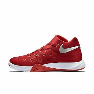 0 Nike Zoom HyperQuickness 2015 TB  812976 603 SIZE 10 Red Basketball Shoes