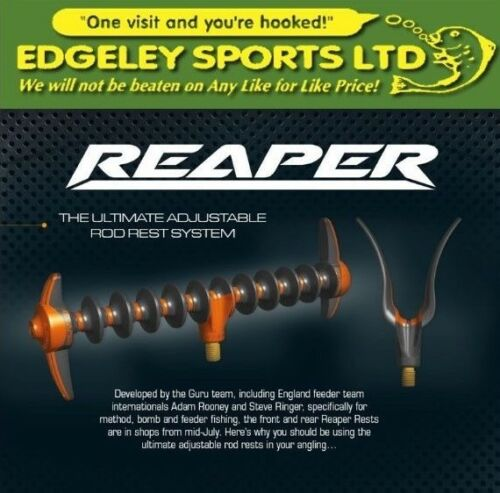 Guru Specialist Reaper Feeder Rest Rear /& Front Rest Available