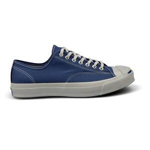 fd38c3ac1aa8 Converse Jack Purcell Signature True Navy Duck Canvas Mens Trainers ...