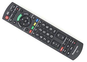 PANASONIC-N2QAYB000328-Original-LCD-TV-TX-L42S10-TX-L42U10-Mando-a-distancia