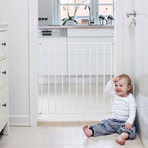 STAIR GATES VALUE PACK 2 x BabyDan No Trip Single Panel Screw Fit Baby Gates