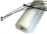 Temporary Rainwater Downpipe 336m Roll for domestic gutter outlets Roof Repair