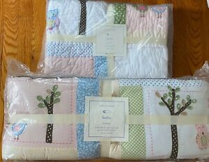 Pottery Barn Kids Hayley Crib Bumper And Quilt New Ebay