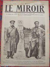 LE MIROIR  n°136 ¤ 02/07/1916 ¤ OFFICIERS RUSSES AU PIED DES KARPATHES