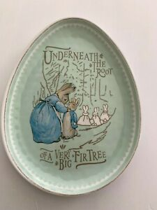Pottery Barn Kids Beatrix Potter Peter Rabbit Plate Egg ...