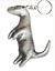 Suricata-Llavero-y-Pin-Insignia-en-Caja-Set-de-Regalo-Hecho-a-Mano-Peltre-Solido miniatura 3