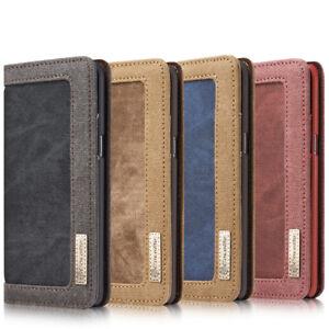 HTC-U11-Wallet-Case-Schutzhuelle-Cover-Etui-Tasche-Huelle-Jeans-Leder-Synthetisch