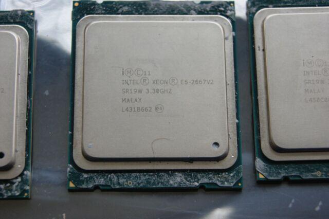 Intel Xeon E5-2667 v2 SR19W 3.30GHz 8-Cores 130W LGA2011 Ivy Bridge EP CPU USA!!