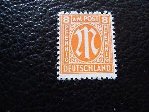 Germany-Bizone-Stamp-Yvert-and-Tellier-N-6-N-A34-Stamp-Germany