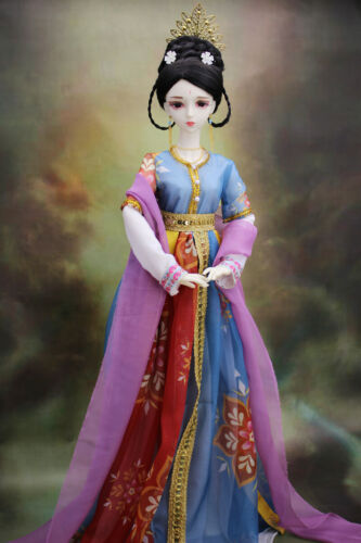 "24/"" 1//3 Resin BJD MSD Dolls Lifelike Dolls Joint Dolls Women Girl Gift Jessie"