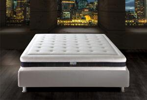 Materasso Memory Lattice Futuro Con Fodera In Tessuto Tencel Dispositivo Medico Ebay