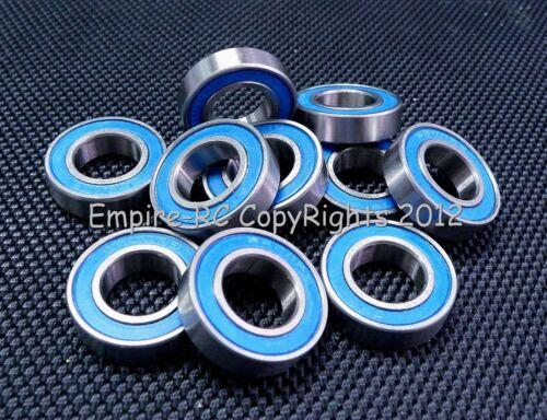 4 Stück 6901-2rs Metall Gummi Verpackt Kugellager 12 24 6 Blue 12x24x6 mm