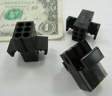 20 Molex 6-Position Pin Socket Connectors Receptacle Housing 1625-6R 03-06-1061