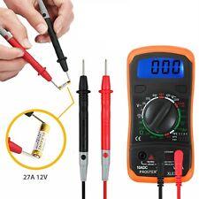 Pro Digital Multimeter Meter Volt Tester Electric Ohm Ac Dc Rms Auto Range Usa